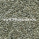 Metallic-silver-Preciosa®--seedbeads