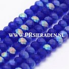Blauw-half-AB-color-plated-frosted-abacus-facet--glaskralen