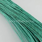 Turquoise-wax-draad-1mm