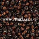 Dark-topaz-silverlined--Preciosa®--seedbeads