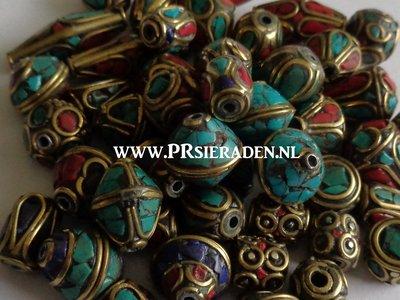 Tibetaanse mix kralen