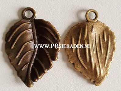 Blad brons bedel3