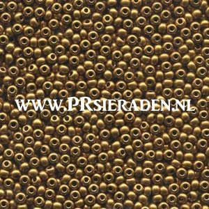 Bronze gold Preciosa®  seed beads