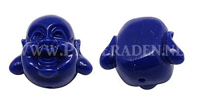 Donker blauwe Buddha kraal