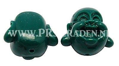 Groene Buddha kraal