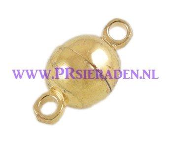 magneet slotje goudkleurig
