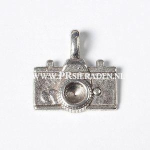 Fototoestel zilverkleurige bedel
