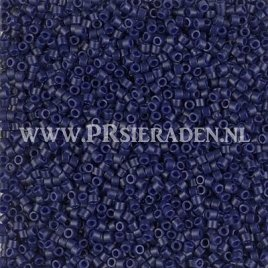 Miyuki Delica® matted opaque cobalt DB2144
