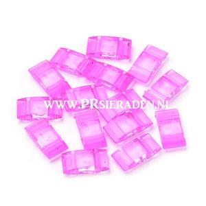 Carriers beads fel roze