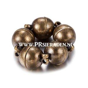 Magneet slotje bronskleurig