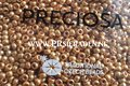 Metallic-dark-gold-Preciosa®--seed-beads