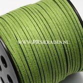 Groen-suede-veter