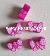 Donker-roze-vlinder-fimo