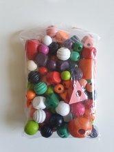 Mix-kleurrijke-houten-kraal