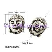 Young-Buddha-zilverkleurige-kraal