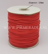 Rode-polyester-wax-draad-2mm