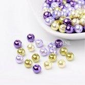 Lavender-glasparelsmix