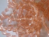 Rosé-facet-druppel-glaskraal