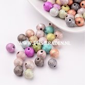 Acryl-kleurrijke-mix--ronde-kralen