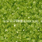 Olijfgroen-fire-polished-Tsjechische-kristal-glas-kralen